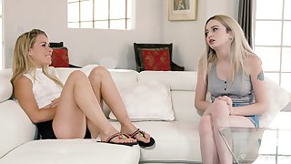 she's my make more attractive mommy - Lexi Lore, Lilly Lit and Serene Fear