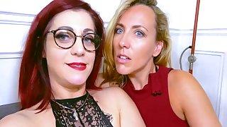 Mya With the addition of Flora Enjoy Naughty Lesbian Sex Session With Mya Lorenn
