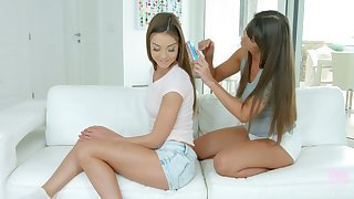 You have a go awesome opportunity to enjoy lesbian 69 sex with Victoria Velvet