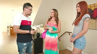 Daughter-in-law Scarlett Mae gets intimate with mother-in-law Elexis Monroe
